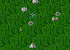 Xevious Destruyendo Bases Enemigas